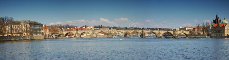 De brug van Charles royalty-vrije stock afbeeldingen