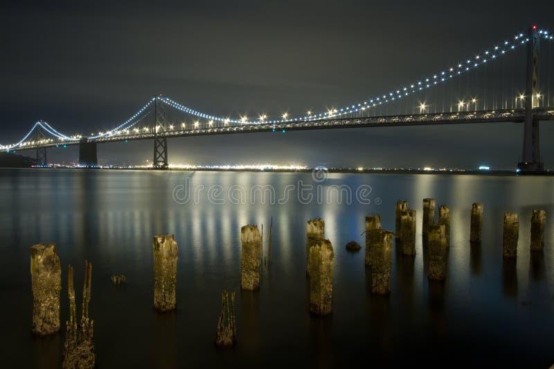 DE BRUG VAN DE BAAI, SAN FRANCISCO, CALIFORNIË stock afbeelding