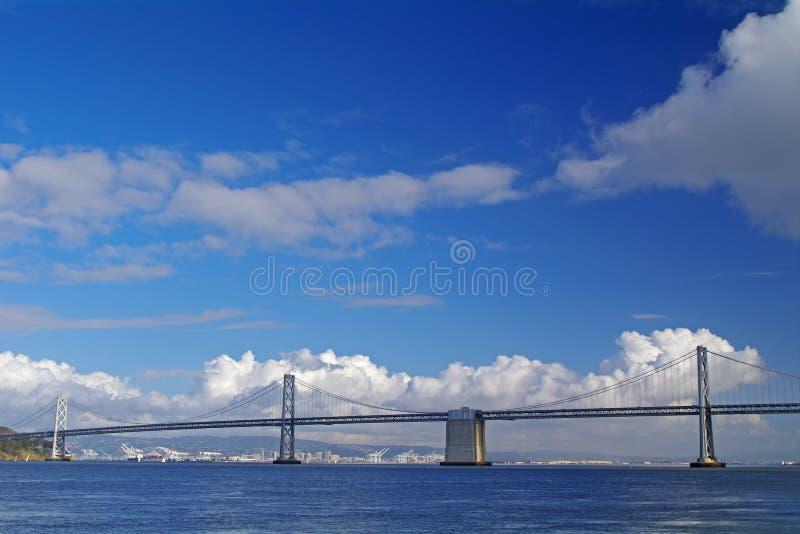 De Brug van de Baai van San Francisco royalty-vrije stock afbeeldingen