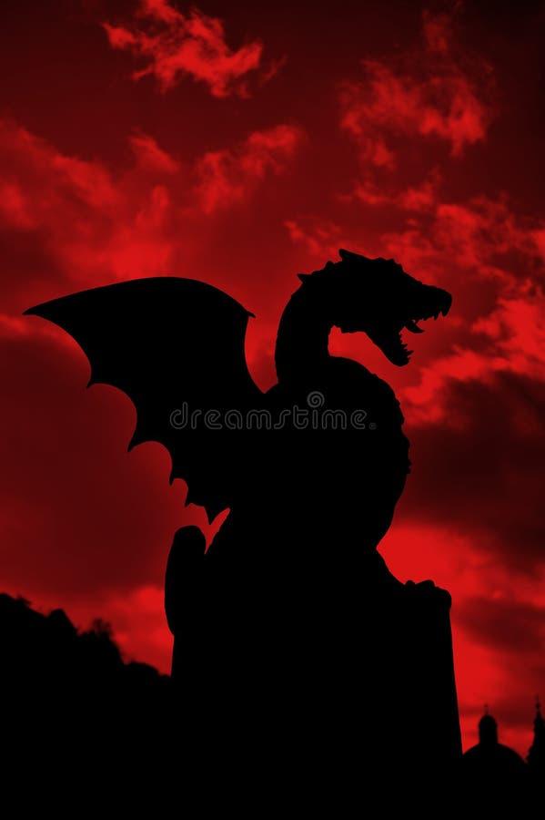 De brug van de draak royalty-vrije stock afbeelding