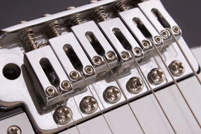 De brug van de gitaar royalty-vrije stock afbeelding