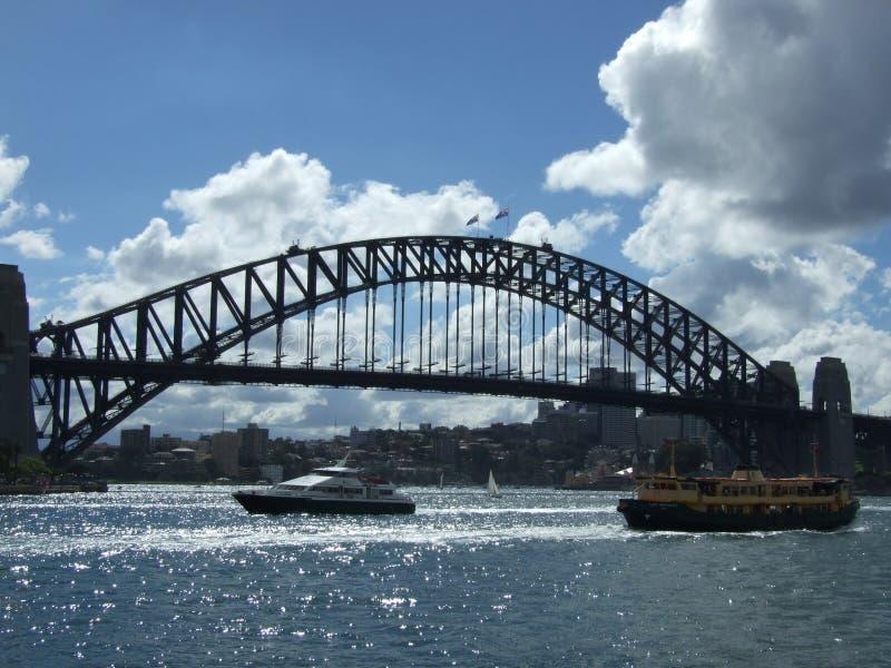 Sydney Harbour Bridge stock foto's