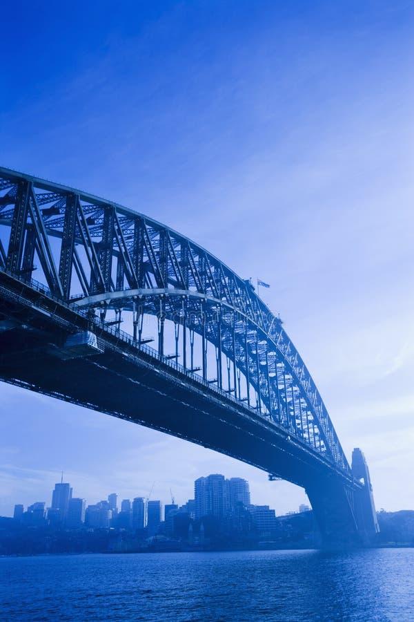 De Brug van de Haven van Sydney. stock foto
