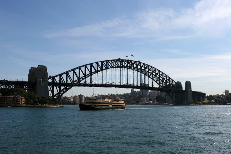 De Brug van de Haven van Sydney royalty-vrije stock afbeeldingen