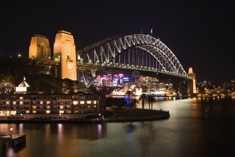 De Brug van de Haven van Sydney, Australië stock foto