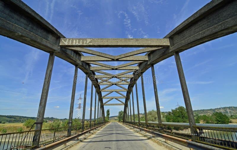De brug van de meetkunde stock foto's