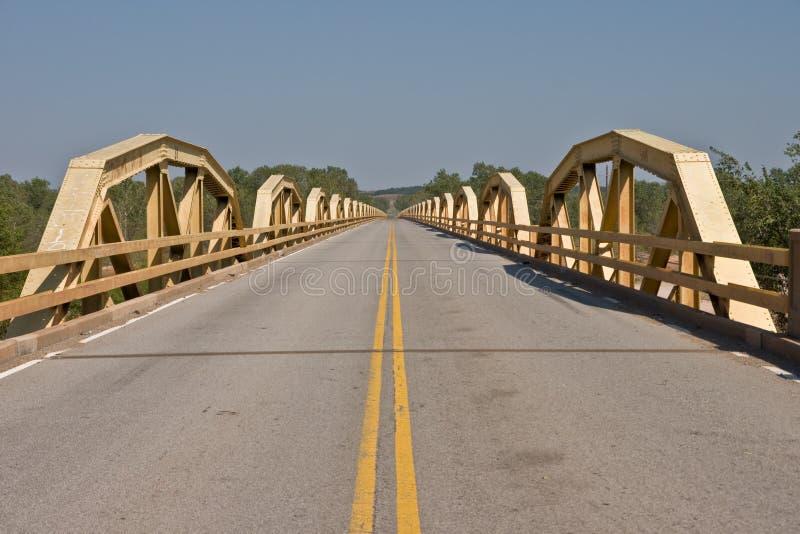 De Brug van de poney op Route 66 royalty-vrije stock fotografie