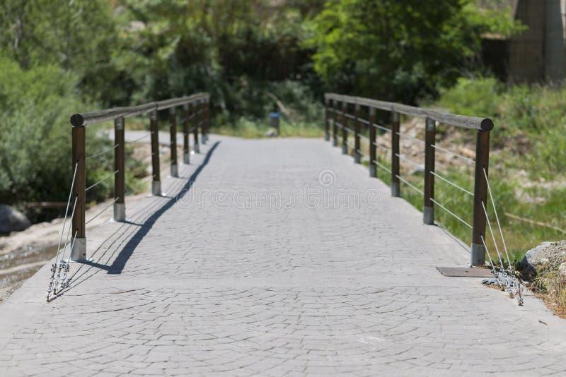 De brug van de steen stock fotografie