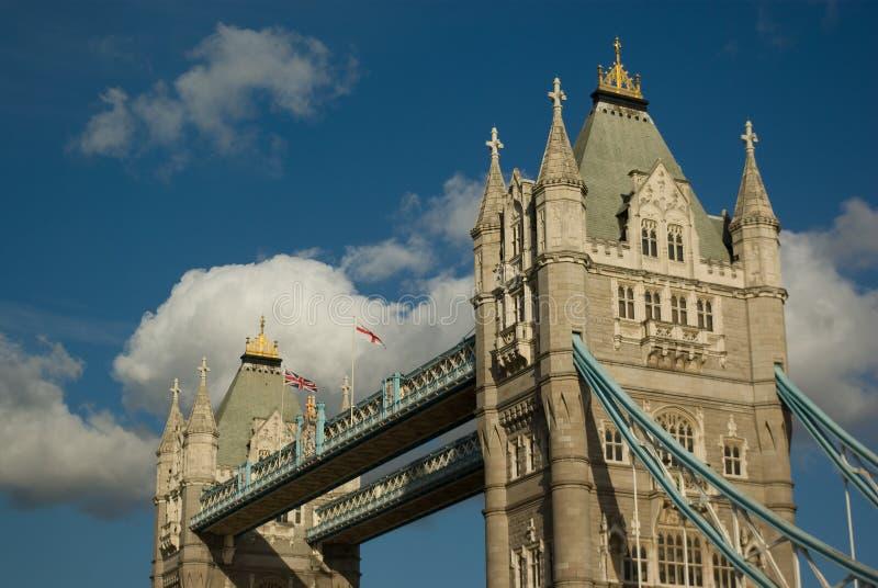 De brug van de toren royalty-vrije stock afbeelding