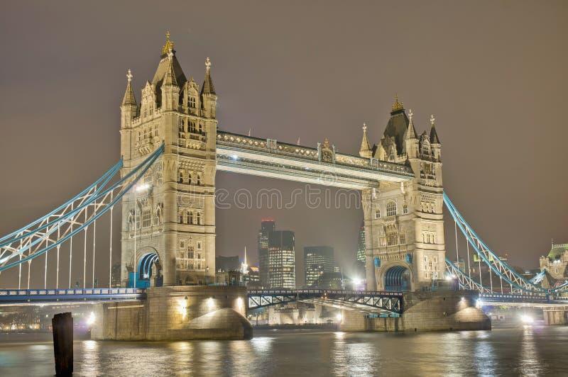 De Brug Van De Toren In Londen, Engeland Royalty-vrije Stock Foto's