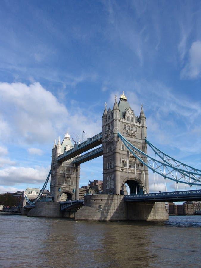 De Brug van de toren in Londen, Engeland royalty-vrije stock afbeeldingen