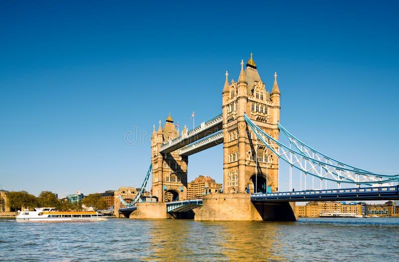 De Brug van de toren in Londen, het UK stock foto's