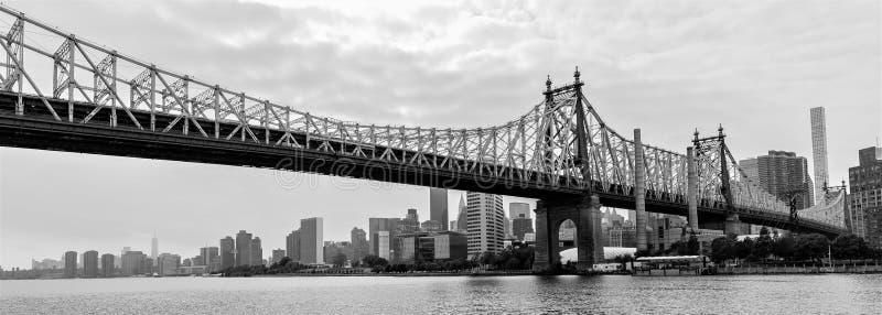 De Brug van ED Koch Queensboro van het Queens, de Stad van New York, de V.S. stock foto's