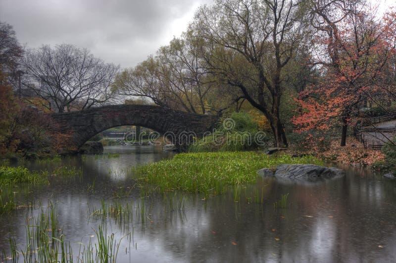 De brug van Gapstow stock afbeeldingen