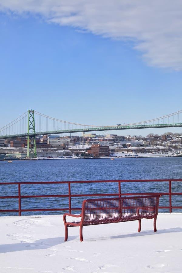 De Brug van Halifax stock afbeelding