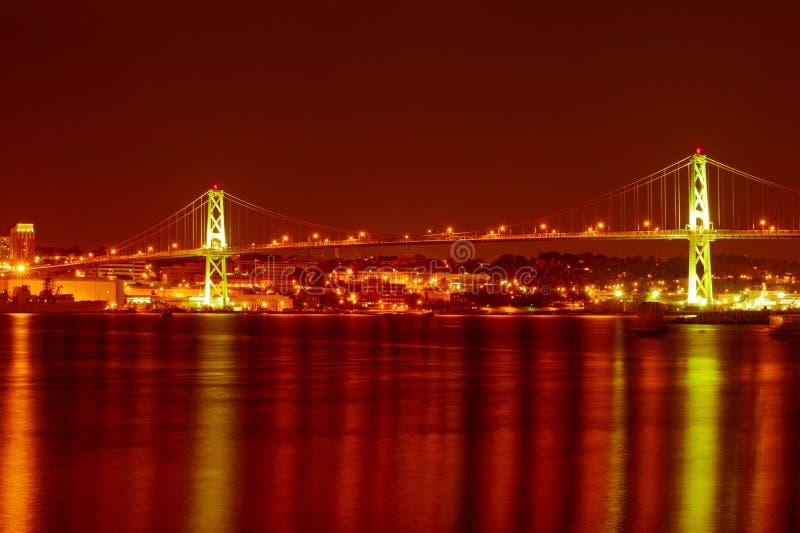 De brug van Halifax royalty-vrije stock afbeeldingen