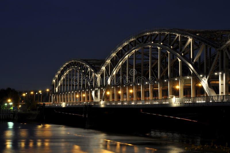 De brug van Hamburg royalty-vrije stock afbeeldingen
