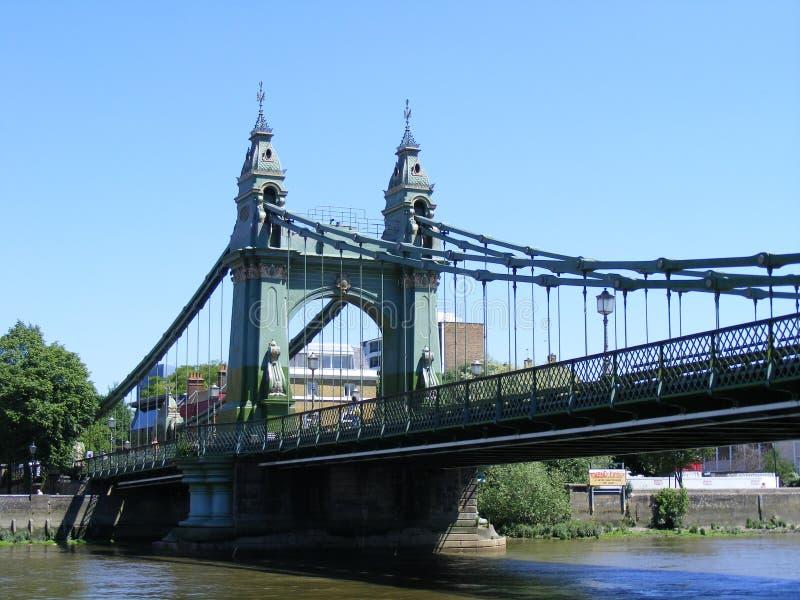 De Brug van Hammersmith royalty-vrije stock afbeeldingen