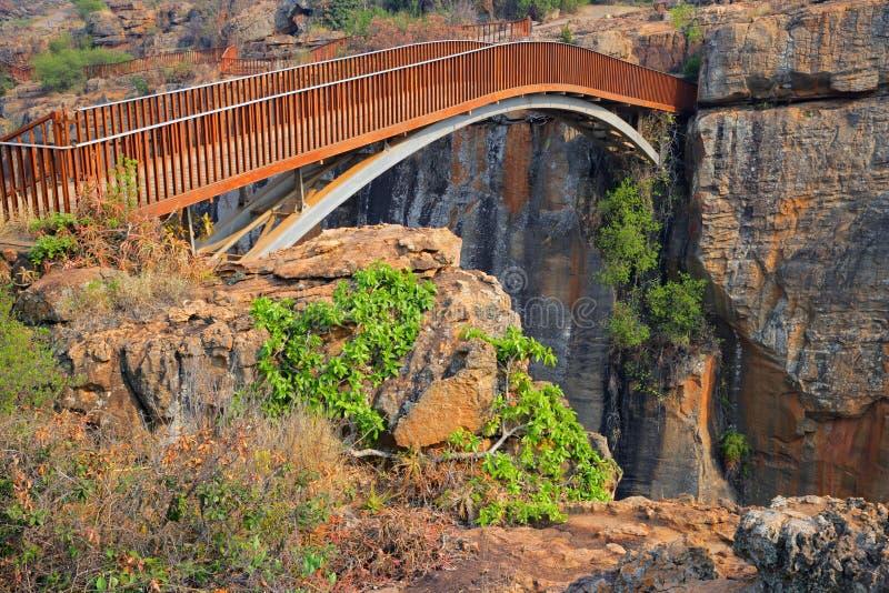 De brug van het Geluk van Bourke, Zuid-Afrika