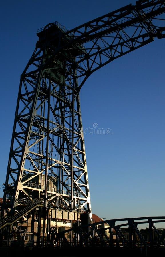 De brug van het ijzer royalty-vrije stock foto's