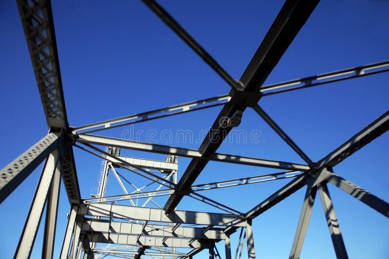 De brug van het metaal stock foto