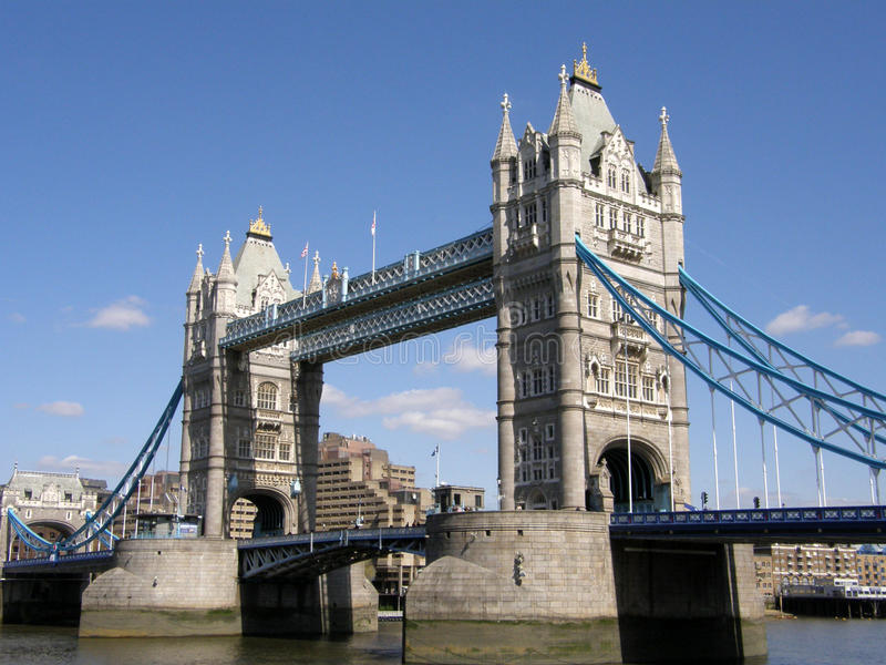 De Brug van Londen stock afbeelding
