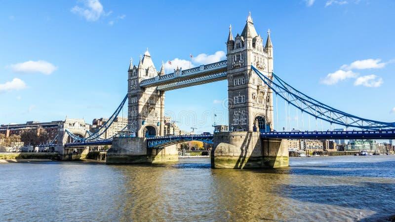 De Brug van Londen - Mening - Londen royalty-vrije stock foto's