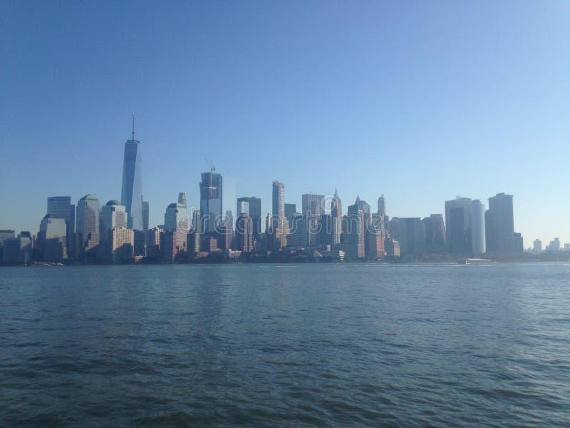 De brug van Manhattan en van Brooklyn royalty-vrije stock foto