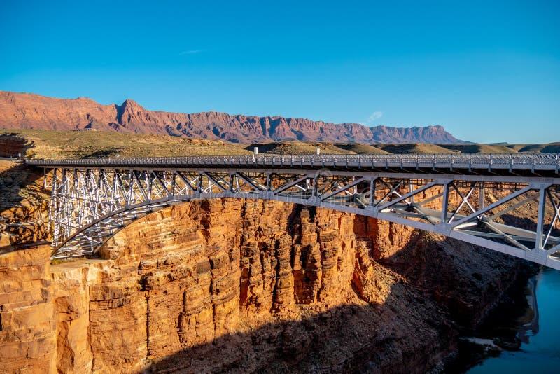 De Brug van Navajo over de Rivier van Colorado in Arizona royalty-vrije stock foto's