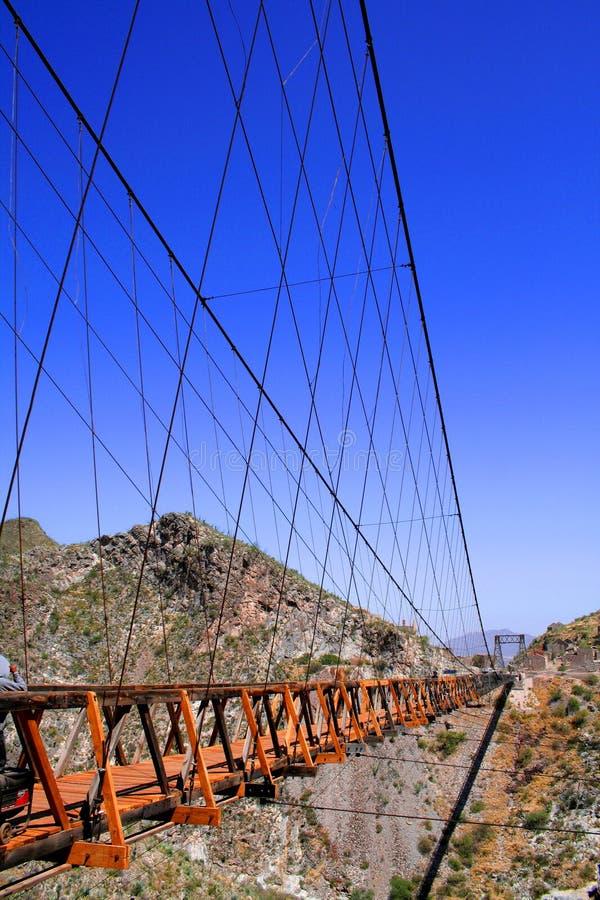 De brug van Ojuela royalty-vrije stock afbeelding