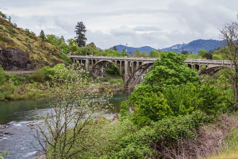 De brug van Oregon stock foto