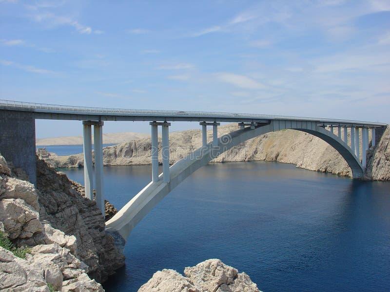 De brug van Pag royalty-vrije stock fotografie