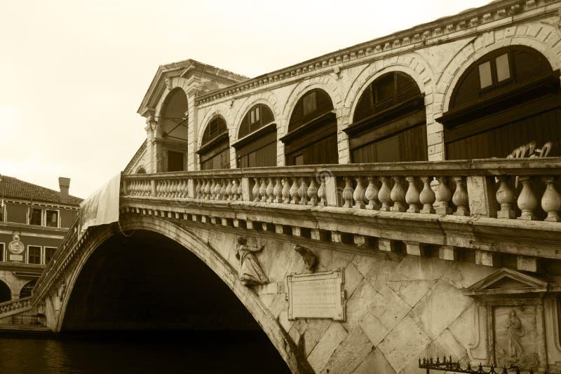 De brug van Rialto stock fotografie