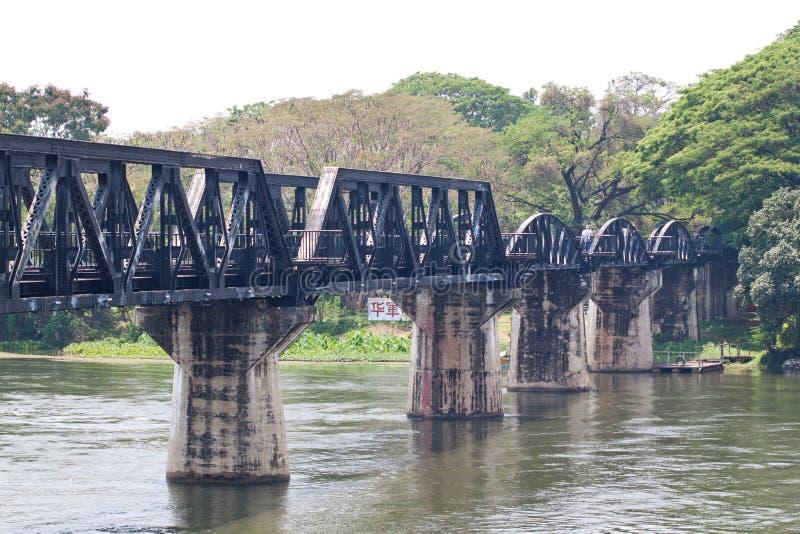 De Brug van rivierkwai stock foto's