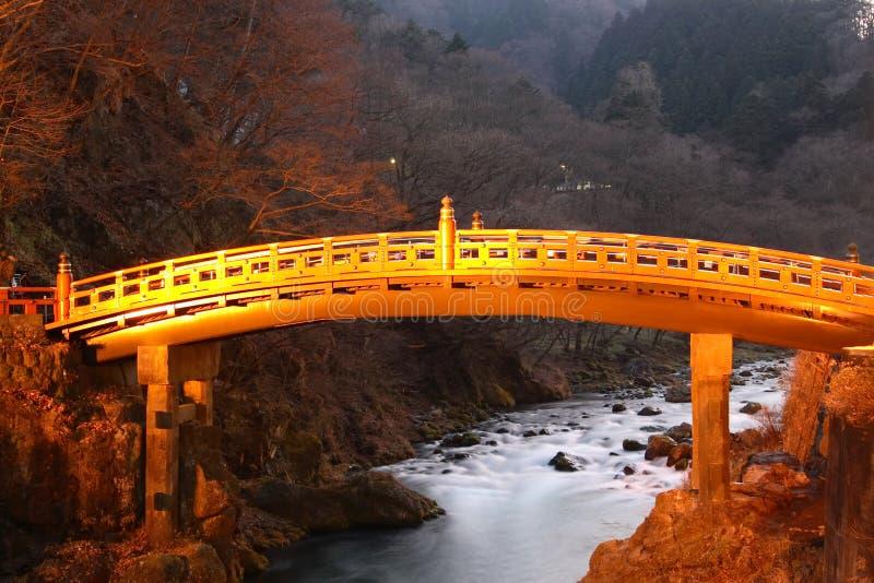 De brug van Sarced royalty-vrije stock fotografie
