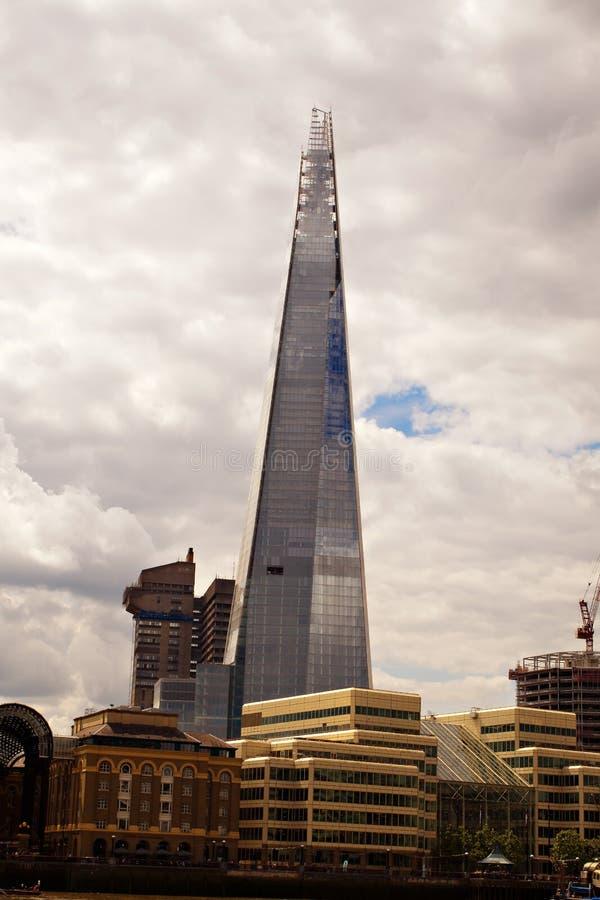 De Brug van Scherflonden, Londen, Engeland royalty-vrije stock afbeeldingen