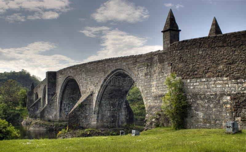De brug van Stirling stock afbeeldingen
