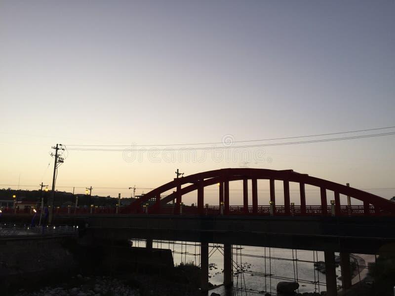 De brug van Taibai-berg stock fotografie
