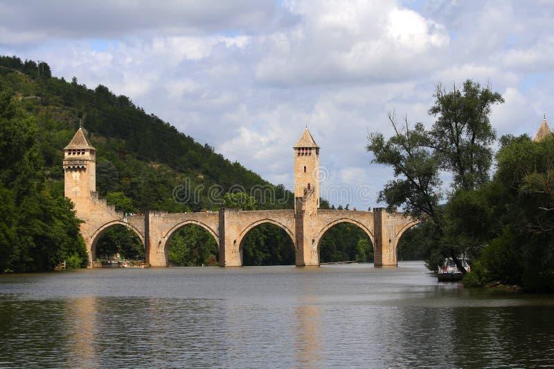 De brug van Valantre stock fotografie