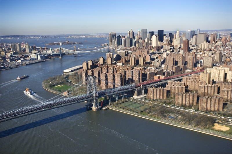 De Brug van Williamsburg, NYC royalty-vrije stock foto's