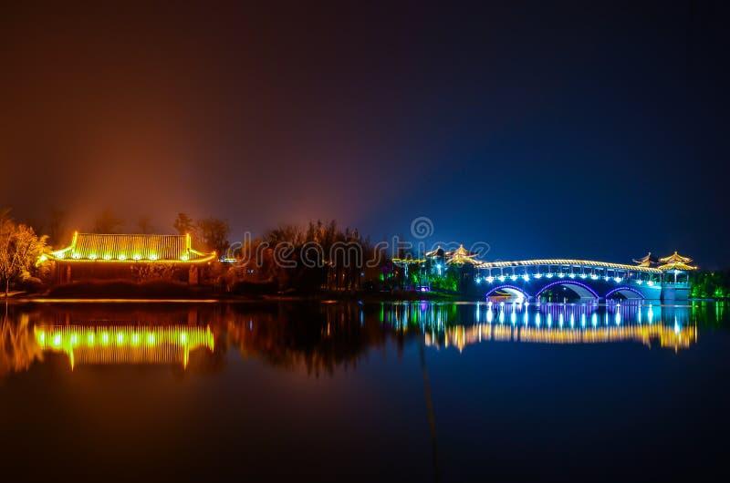De Brug van Xuzhouchina stock foto