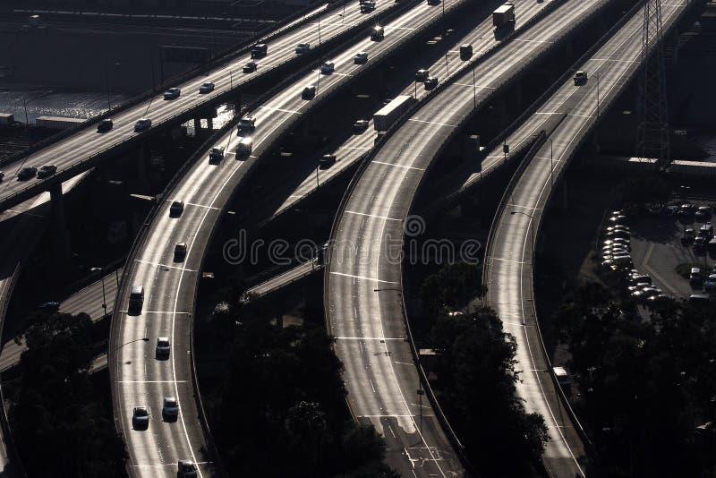 De Bruggen van de snelweg stock foto
