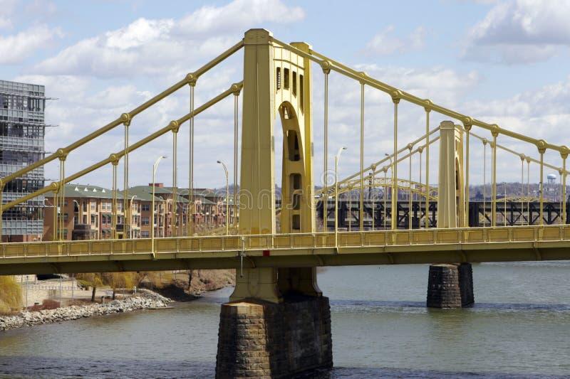 De Bruggen van Pittsburgh stock afbeeldingen