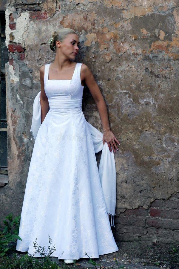 De bruid stock afbeelding