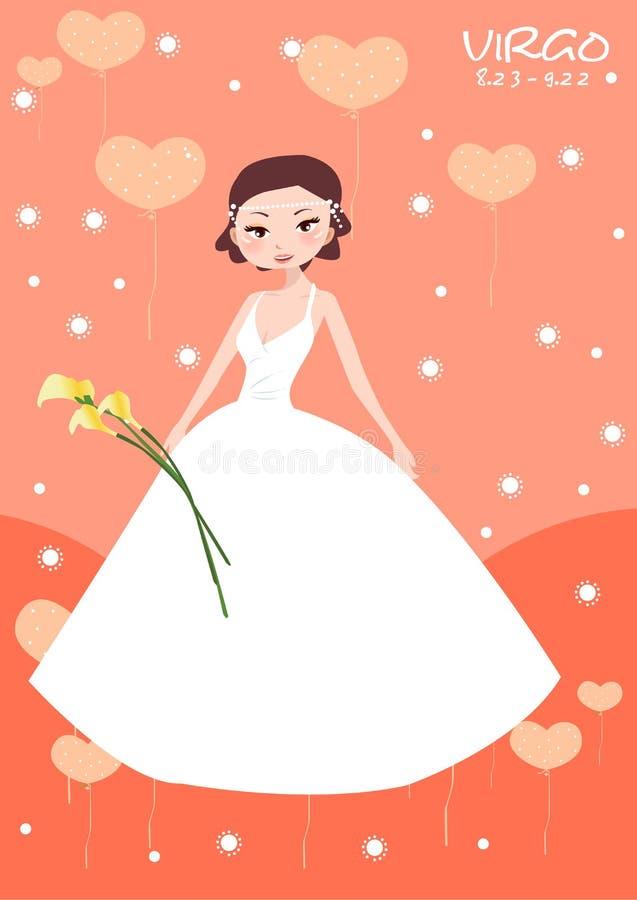 De bruid van de Maagd royalty-vrije illustratie