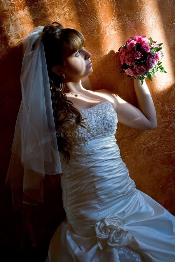De Bruid van het huwelijk royalty-vrije stock afbeelding