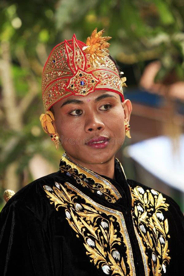 De bruidegom van Bali stock foto