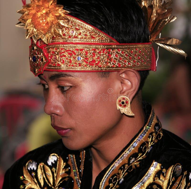 De bruidegom van Bali royalty-vrije stock fotografie