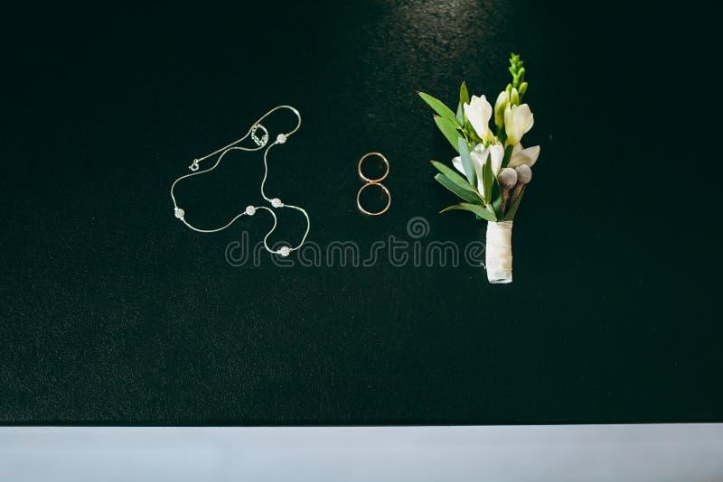 De bruidsmeisjekleding stock foto's
