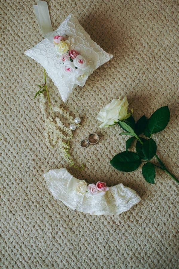 De bruidsmeisjekleding royalty-vrije stock foto's